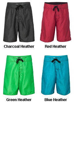 Burnside Heathered Board Shorts - All Colors