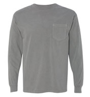 Custom Adult Long-Sleeve Pocket T-Shirt