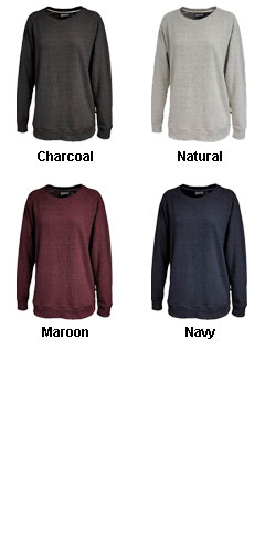 Womens Poodle Fleece Crew - All Colors