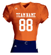 Custom Adult Solid Mesh Football Jersey