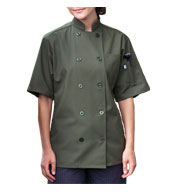 South Beach Short Sleeve Chef Coat
