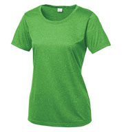 Custom Ladies Heather Contender™ Scoop Neck Tee