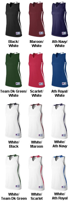 Champion Womens Supreme Basketball Jersey - All Colors