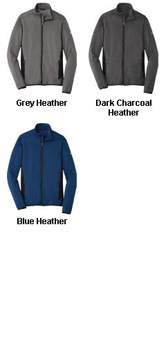 Eddie Bauer Full-Zip Heather Stretch Fleece Jacket - All Colors