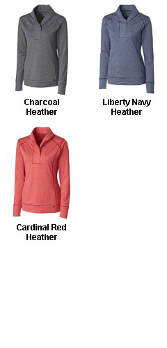 Ladies Shoreline Half Zip - All Colors