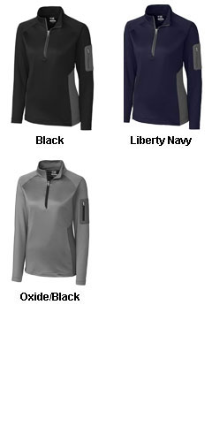 Ladies Shaw Hybrid Half Zip - All Colors