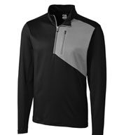 Custom Mens Shaw Hybrid Half Zip