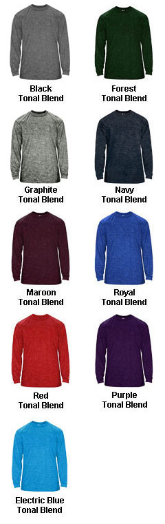 Tonal Blend Long Sleeve Tee - All Colors