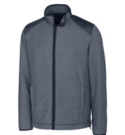 Cutter & Buck Mens Cedar Park Full-Zip Fleece Jacket