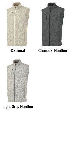 Mens Pacific Heathered Vest - All Colors