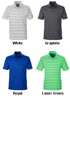 Mens Under Armour Tech Stripe Polo - All Colors