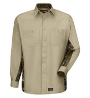 Wrangler Long-Sleeve Camo Shirt