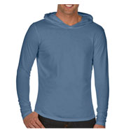 Adult Long-Sleeve Hooded T-Shirt