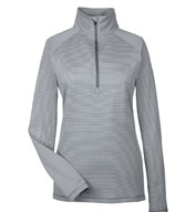 Ladies Under Armour Corp Stripe Quarter-Zip
