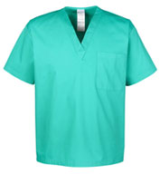 Custom Mens Restore 4.9 oz Scrub Top