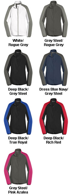 Port Authority Ladies Active Colorblock Soft Shell Jackets - All Colors