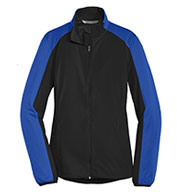 Custom Port Authority Ladies Active Colorblock Soft Shell Jackets