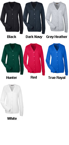Ladies Pilbloc� V-Neck Cardigan Sweater - All Colors