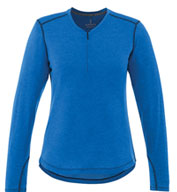 Womens Quadra Long Sleeve Top