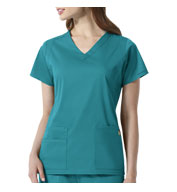 Custom Charlotte V-Neck Scrub Top from Wonder Wink Next®