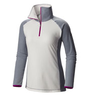 Custom Columbia Womens Glacial Fleece III Half-Zip Microfleece Pullover