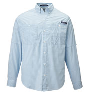 Columbia Mens PFG Tamiami Gingham Shirt