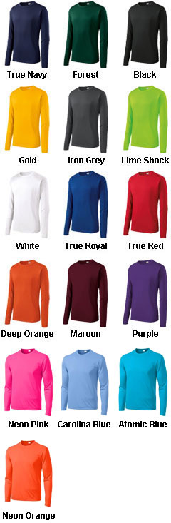 Sport-Tek® Tall Long Sleeve PosiCharge® Competitor™ Tee - All Colors