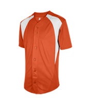 Custom Youth Cutoff Full Button Baseball Jersey