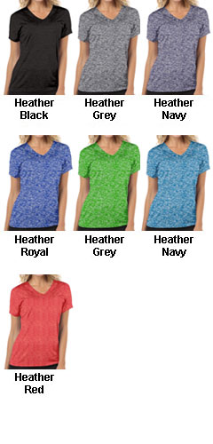 Ladies V-Neck Performance Tee - All Colors