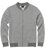 Custom Adult Asher Fleece Bomber Sweatshirt