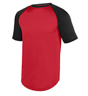 Custom Adult Wicking Short Sleeve Baseball Jersey