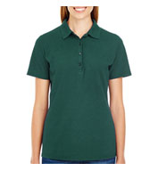 Hanes Womens X-Temp Pique Sport Shirt