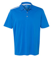 Custom Adidas Climacool 3-Stripes Shoulder Polo