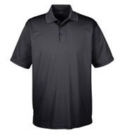 Custom UltraClub Mens Tall Cool and Dry Mesh Pique Polo
