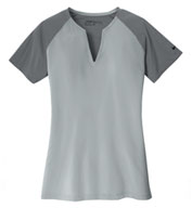 Custom Nike Golf Ladies Dri-FIT Stretch Woven Top