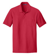 Custom Adult Core Classic Pique Pocket Polo