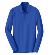 Adult Long Sleeve Core Classic Pique Polo