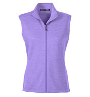 Custom Ladies Newbury Mélange Fleece Vest