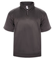 Poly Fleece Short Sleeve 1/4 Zip