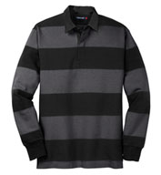 Custom Classic Long Sleeve Rugby Polo