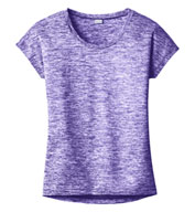 Ladies PosiCharge® Electric Heather Tee