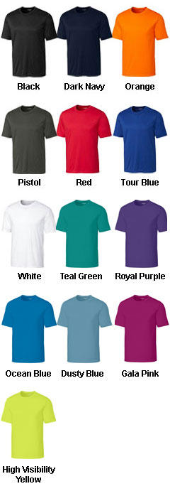 Clique Mens Spin Dye Jersey Tee - All Colors