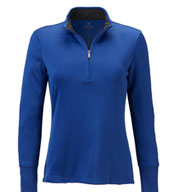 Brooks Brothers Womens Performance Half-Zip Pullover