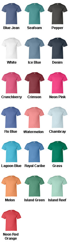 100% Pigment-Dyed Youth Tee - All Colors