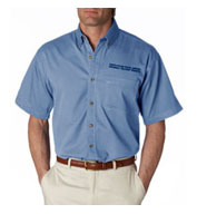 USPS Denim Short Sleeve Shirt