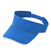 Custom Mesh Sun Visor with Adjustable Velcro Back