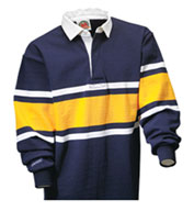 Collegiate Stripe Rugby Shirt