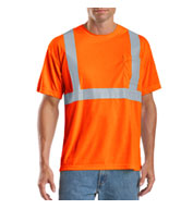 Custom ANSI 107 Class 2 Safety T-Shirt