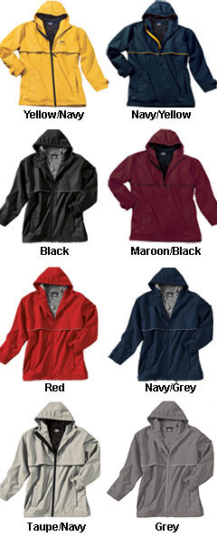 New Englander Adult Rain Jacket  by Charles River Apparel - All Colors