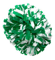 Cheer Pom Poms in School Colors